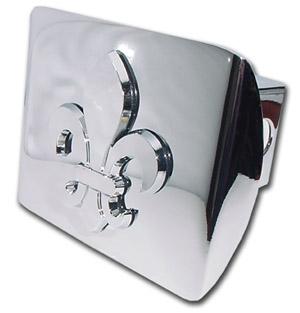 New Orleans Saints Hitch Cover Chrome -Silver