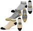 New Orleans Saints Money No Show Socks - 3 Pack