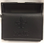 New Orleans Saints Wallet - Black Tone-on-Tone Leather Tri-Fold