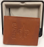New Orleans Saints Wallet - Brown Leather Bi-Fold