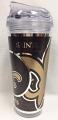New Orleans Saints Tumbler - Plastic 24 oz