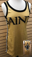 New Orleans Saints Gold Jersey Dress