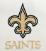 New Orleans Saints FDL SAINTS Static Cling