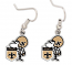 New Orleans Saints Earrings - Sir Saint