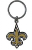 New Orleans Saints Key Chain - Enameled