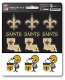 New Orleans Saints Decal - Mini Multi Pack-12
