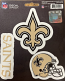 New Orleans Saints Decal - Team Pack-3