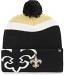 New Orleans Saints Knit Hat - Mokema Cuff