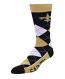 New Orleans Saints Socks - Argyle Lineup