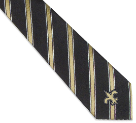 New Orleans Saints Woven Poly1 Tie