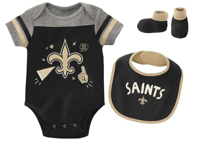 New Orleans Saints 3 Piece - Cheer