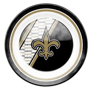 New Orleans Saints Plastic Dinner Plate