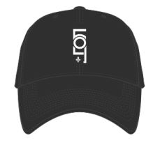 504 Black Relax Fit Adjustable Cap