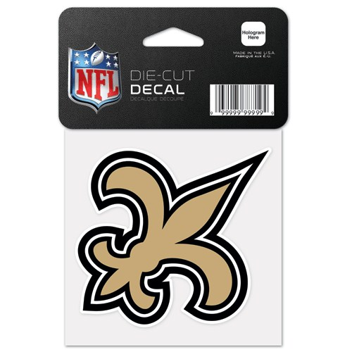 New Orleans Saints Decal - Fleur De Lis
