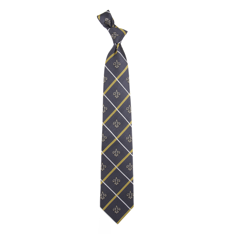 New Orleans Saints Silver Line Tie