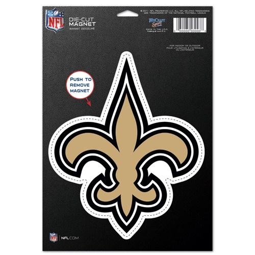 New Orleans Saints Fleur De Lis Die-Cut Magnet