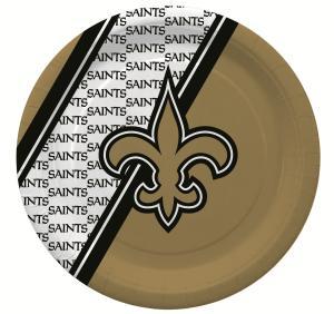 New Orleans Saints Disposable Paper Plates - 20 pack
