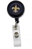 New Orleans Saints Badge Reel Black