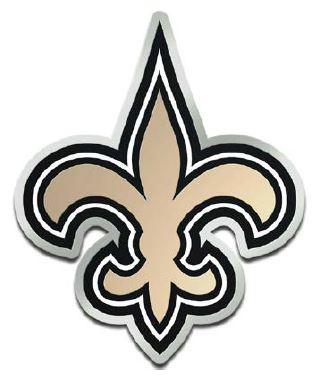 New Orleans Saints Auto Emblem FDL Acrylic Laser Cut