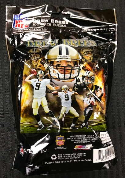 New Orleans Saint Puzzle - 100 piece Brees