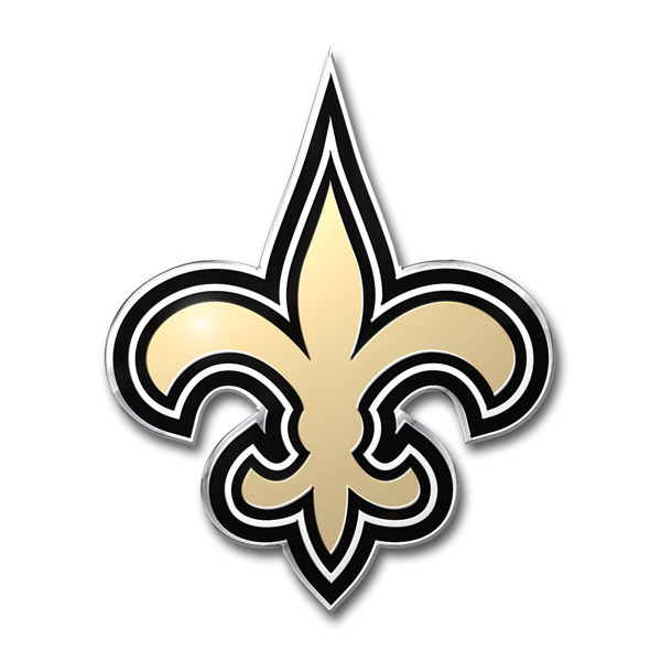 New Orleans Saints Auto Emblem Team