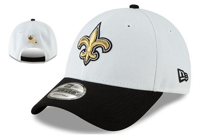 New Orleans Saints Cap - League White Adjustable