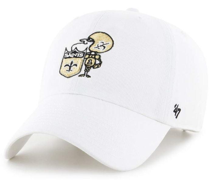 New Orleans Saints Cap - MVP White Sir Saint