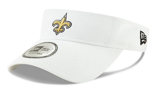 New Orleans Saints Visor - Dugout White