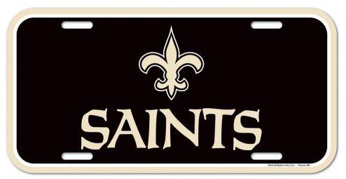 New Orleans Saints Car Tag - Plastic Saints FDL