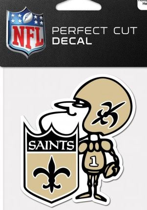 New Orleans Saints Decal - Sir Saint