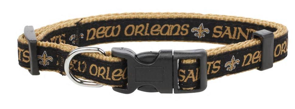 New Orleans Saints Dog Collar