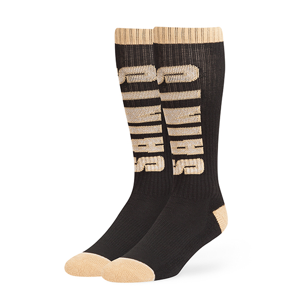 New Orleans Saints Black Warner 47 Sport Sock