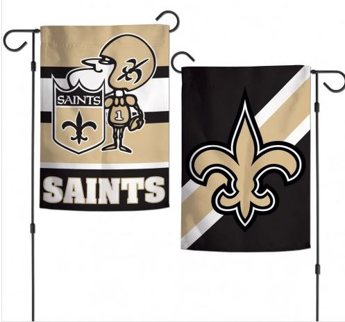 New Orleans Saints Flag - Garden 2-Sided