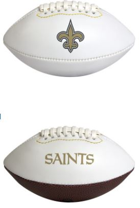 New Orleans Saints Mini Autograph Football - 7""