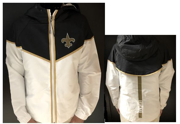 New Orleans Saints Jacket - Women Rain