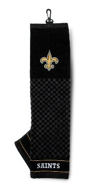 New Orleans Saints Towel - Golf Embroidered