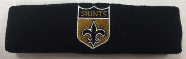 90d20ee2 New Orleans Saints Shield Headband