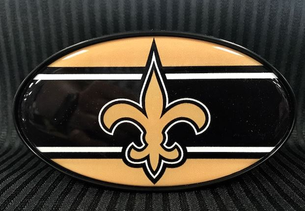 New Orleans Saints Hitch Cover - Striped