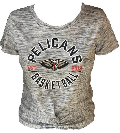 New Orleans Pelicans Women Shirt - Heather Knot