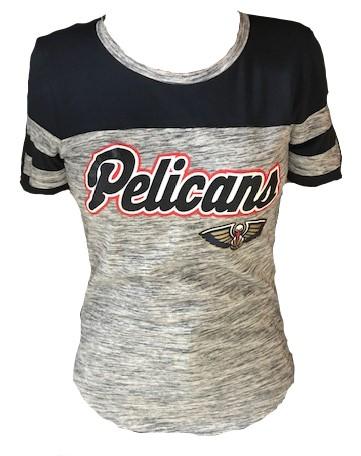 New Orleans Pelicans Women Shirt - Scoop Heather