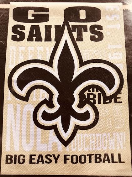 New Orleans Saints Banner - Fan Rules
