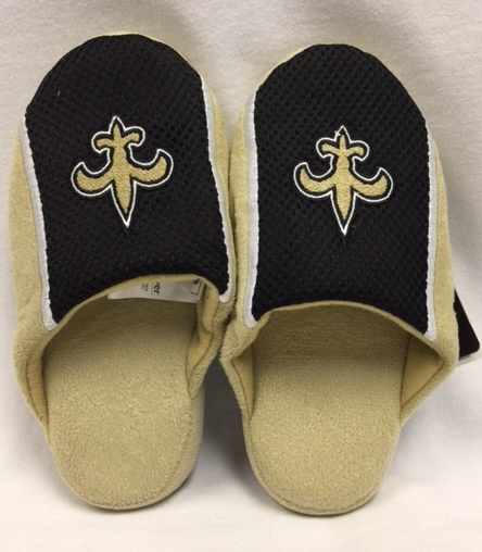 New Orleans Saints Youth FDL Slip On Slippers