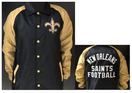 New Orleans Saints Jacket - Two Tone Lightweight