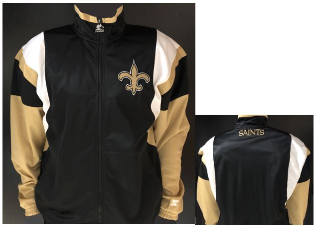 New Orleans Saints Jacket - Starter Lightweight