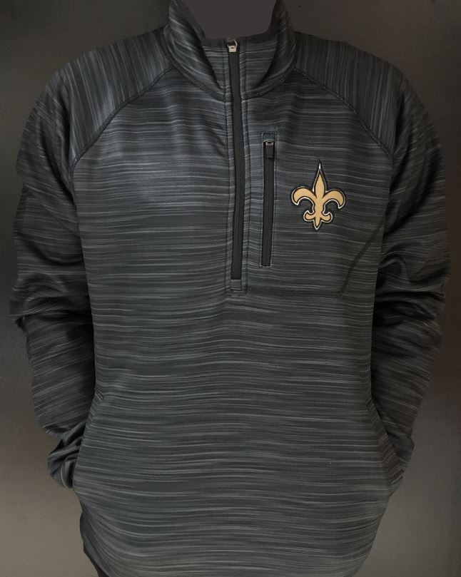 New Orleans Saints Jacket - 1/4 Zip