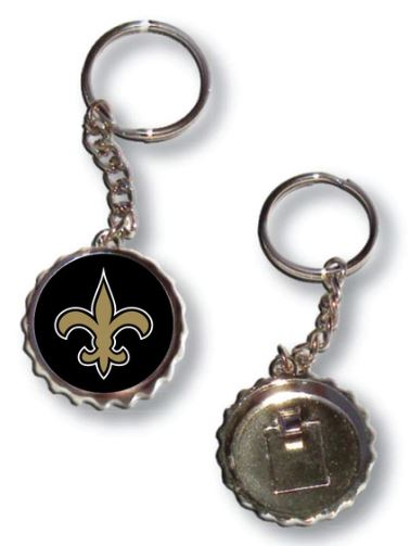 New Orleans Saints Key Chain - Bottle Opener