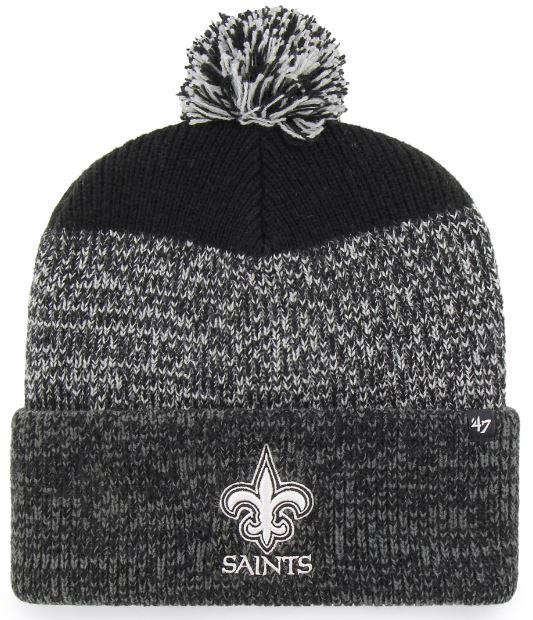 New Orleans Saints Knit Hat - Static Cuff Knit