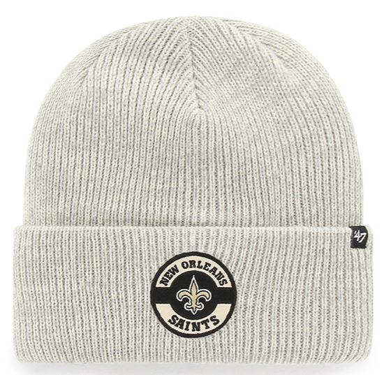 New Orleans Saints Knit Hat - Plainfield Cuff