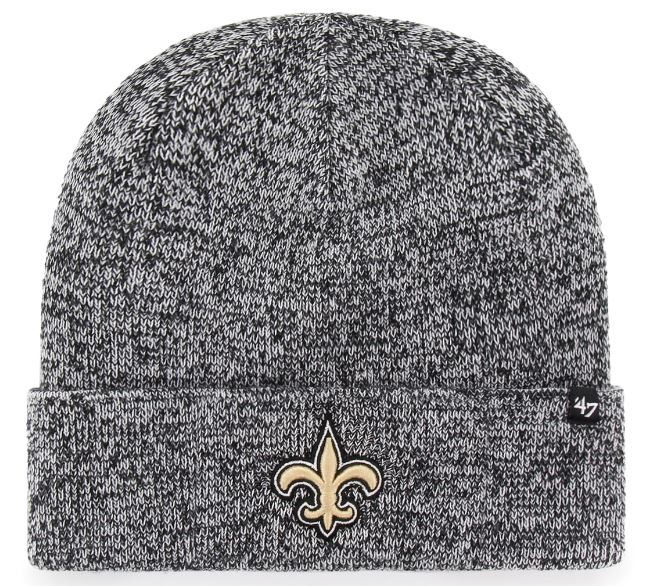 New Orleans Saints Knit Hat - Checker Cuff