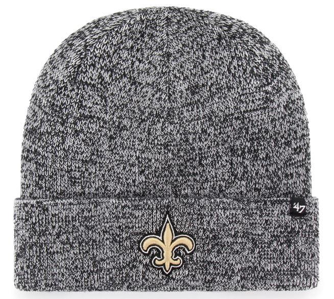 New Orleans Saints Knit Hat - Checker Cuff